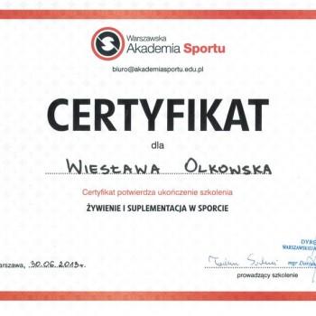 akademia sportu zywienie suplementacja w sporcie