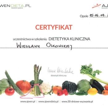 Iwona Wierzbicka szkolenie dietetyka kliniczna