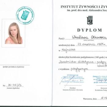 Studia Podyplomowe IŻŻ Poradnictwo Dietetyczne